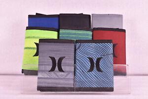 Hurley Renegade Tri - Fold Wallet w/ Centered Logo