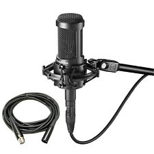 Audio Technica AT2050 Multi-Pattern Condenser Microphone with XLR Cable