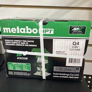 METABO HPT cordless compact trim router M1808DA  18 Volt