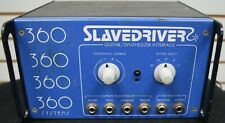 360 Systems SlaveDriver Guitar/Synthesizer Interface, Vintage 1978!