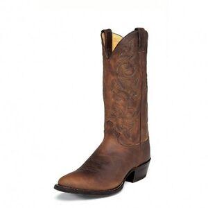 Justin 2253 Men's Bay Apache Cowboy Western Dress Boots