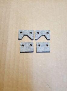 Emco Maximat V10 V10P Metal Lathe Felt Way Wiper Set  NEW