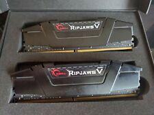 G.Skill Ripjaws V 2 x 16GB DDR4-3200 PC4-25600 CL16 Dual Channel Desktop Memory…