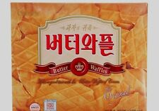 CROWN BUTTER WAFFLE High Quality Korean Classic Snack Sweet  316g 1 EA