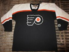 Philadelphia Flyers NHL Hockey KoHo Black Jersey XL
