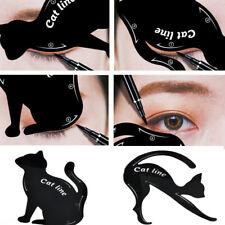 2Pcs Eyeliner Stencils Women Cat Line Pro Eye Makeup Tool Template Shaper Model