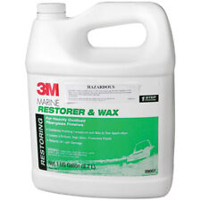 Fibreglass Restorer and WAX 3M 9007 Boat Marine Polish Wax 3.7 Ltr NEW