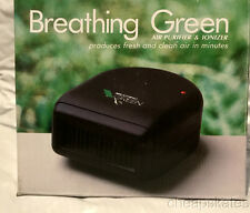 BREATHING GREEN Air Purifier & Ionizer for Home~Car~Office Portable~Fresh Air