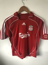 Liverpool 2006-2008 Home Shirt Size XS Or Large Boys