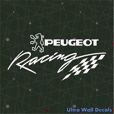 Peugeot Racing 206 306 406 Sticker Auto Aufkleber Decal Decor Jede Farbe