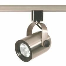 Nuvo Lighting TH317 Round Back Line Voltage Track Head Brushed Nickel (H23-2605)