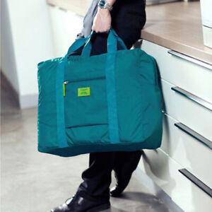 GC- Large Waterproof Clothes Storage Bag Travel Luggage Organizer Hand Bag