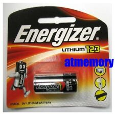 Energizer CR123 CR123A CR17345 EL123AP 3V BATTERY 1pc EXP2028