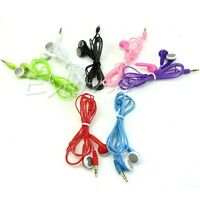 3.5mm Earphone Earbuds Headset Stereo Headphone For iPhone 6 MP3 iPod PC Samsung