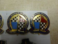 Military Insignia Crest Dui Set Of 2 Entrance Processing Command Dept Of Defense
