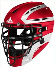 Adidas Pro Series Catcher's Helmet 2.0 Power Red Size  L-XL NWT