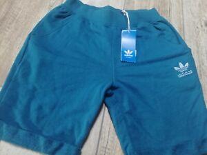 Adidas Uomo pantaloni corti taglia XS bermuda colore Verde nuovo con etichette..