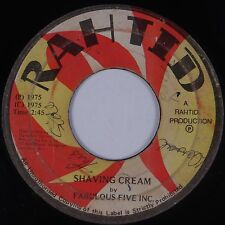 FABULOUS FIVE INC: Cream / Shaving Cream RAHTID JA Jamaica Reggae 45 mp3