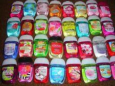 10 @ Bath & Body Works Pocketbac Sanitizing Anti-Bac 5 Mix Hand Gel + 5 Holder