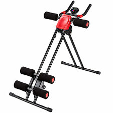 Ab y espalda Trainer Planeador Estómago Músculo Shaper Gimnasio sentarse ejercicio Roler