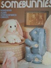 SomeBunnies Stuffed Toy  Pattern Leisure Arts 1104