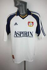 Bayer Leverkusen 04 1999 2000 away adidas shirt Trikot Mens Large L jersey F109