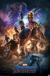 Avengers: Endgame Poster From the Ashes 61 x 91,5 cm Plakat Wanddeko Deko