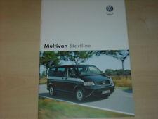 35223) VW Bus T5 Multivan Polen Prospekt 2007