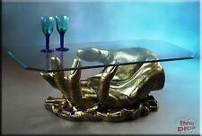 Couchtisch Glastisch Wohnzimmertisch Sofa-tisch Hand Glas Tisch Wohnzimmer