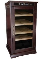 The Redford Electronic Controled Cigar Humidor Holds 1250 Cigars - Ceder Lined