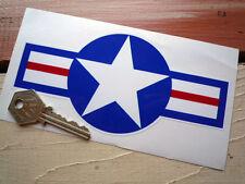 Usaaf Hot Rod Auto Adhesivo 160mm Mustang Corsair Grumman Jet American Classic