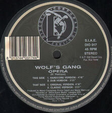 WOLF'S GANG - Opera - Discoid Corporation