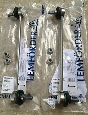 BMW OEM Lemforder Front Sway Bar Link Kit E53 X5 3.0i 4.4i 4.6is 4.8is NEW PAIR