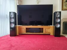 More details for monitor audio silver 500's floor standing speakers black gloss (pair)