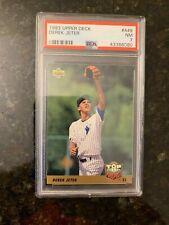 1993 Upper Deck Baseball #449 DEREK JETER ROOKIE........PSA 7