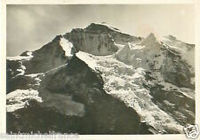 N°83 ZEPPELIN Jungfrau Glacier Switzerland Dirigible AIRSHIP CARD IMAGE 30s