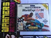 World Cup Usa 94 Inc Poster Sega Mega Cd Megadrive Retro Game