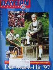 Programm 1997/98 FC Bayern München - FC Schalke 04