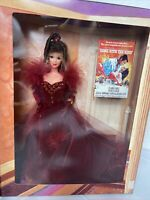 1994 Mattel Barbie as Scarlett O'Hara in Red Dress Hollywood Legends 12815 NRFB