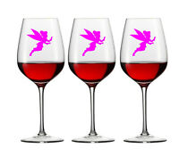 12 X FAIRY DECAL LOGO FOR WINE GLASS WINDOW PHONE CAR VINYL STICKER TINKERBELL