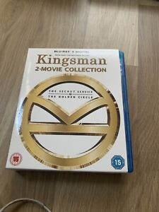 Kingsman - 2-movie Collection Blu-ray (2018) Samuel L. Jackson, Vaughn (DIR)