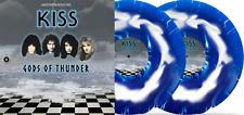 """KISS - Gods Of Thunder - 2 x 10""""  Blue & White Swirl Vinyl Lp -"""