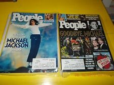 Lot Of 2 People Magazines-Michael Jackson-July.13 & 20 2009