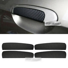 Carbon Black Door Catch Decal Sticker Cover 4P for KIA 2008-2010 Picanto Morning
