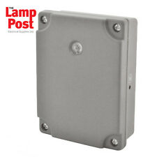 BG WPDD - IP54 Outdoor Weatherproof Dusk till Dawn Light Sensor Timer Switch