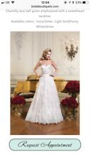 Wedding Dress Size 10, Justin Alexander, Style 8766, Ivory and Champagne