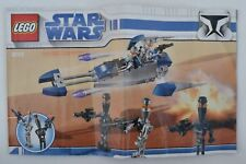 Notice livret manuel instructions LEGO 8015 Star Wars Assassin Droid Battle 2009