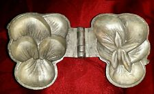 N°280 - ANCIEN MOULE A GLACE EN ETAIN-PENSEE- NO CHOCOLAT CANDY MOLD ICE-