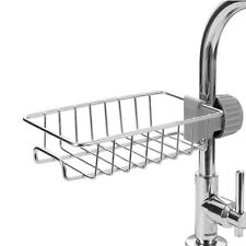 Sink Faucet Sponge Drain Holder Rack Storage Kitchen Bathroom Organizer Shelf 1x