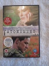 Atonement (DVD, 2008), Keira Knightley, James McAvoy